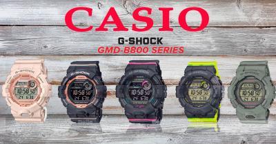 Casio създаде идеалният Дамски часовник G-Shock GMD-B800
