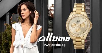 Дамски часовници Q&Q – Нова елегантна колекция CE01J
