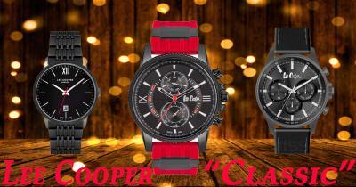"""Защо да изберете Мъжки часовник на английската марка Lee Cooper от колекцията """"Classic""""?"""