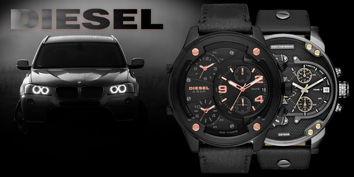 Часовници и бижута Diesel